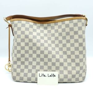 Louis Vuitton Delightful PM Damier Azur